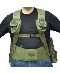 BT Fast Attack Tactical Paintball Vest Combo