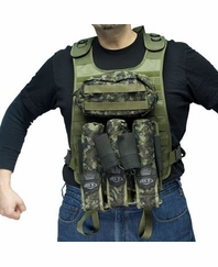 BT Fire Support Paintball Tactical Vest Combo