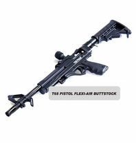 T68 Paintball Pistol Flexi-Air Buttstock