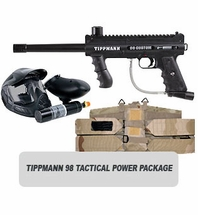 Tippmann 98 Custom Platinum with ACT and Response Trigger Tactical Power Package