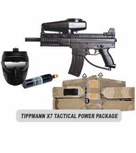 Tippmann X7 Paintball Marker and Response Trigger Tactical Power Package