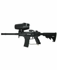 Tippmann A5 Urban Warrior Paintball Marker Package