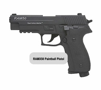 RAMX50 Paintball Pistol (Black)