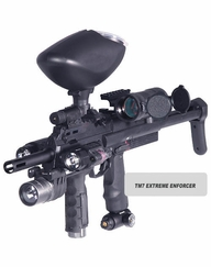 BT TM7 Paintball Gun Extreme Enforcer Package