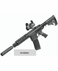 T68 Samurai Paintball Gun Kit with Marker