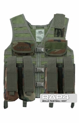 MOLLE Tactical Paintball Vest