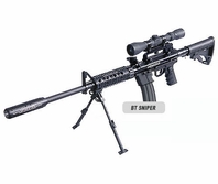 BT Paintball Gun Sniper Kit with Marker Package