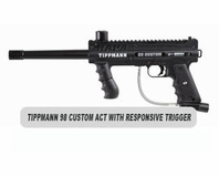 Tippmann 98 Custom Platinum Series ACT with Response Trigger