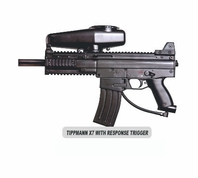 Tippmann X7 Paintball Gun with Response Trigger