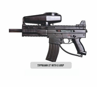 Tippmann X7 Paintball Gun with E-Grip