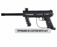 Tippmann 98 Custom Platinum Series with ACT