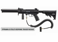 Tippmann A-5 Stealth with Response Trigger Package