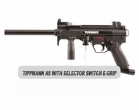 Tippmann A-5 with Selector Switch E-Grip Basic