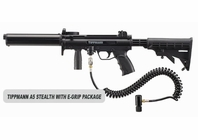 Tippmann A-5 Stealth with eGrip Package