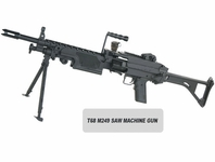 M249 SAW Paintball Machine Gun