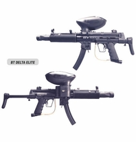 BT Paintball Gun Delta Elite Package with Marker