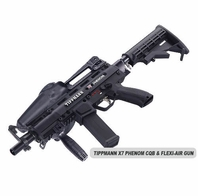 CQB and Flexi Air with Tippmann X7 Phenom
