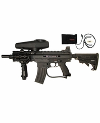 Tippmann X7 Night Ops Paintball Gun Kit Egrip