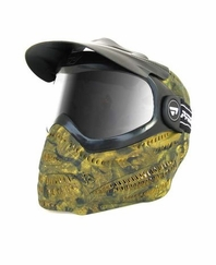 Proto Switch EL Woodland Camo Paintball Goggle