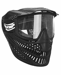 JT Raptor Elite Single Lens Paintball Mask Black