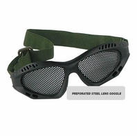 RAP4 Airsoft Perforated Steel Lens Goggle