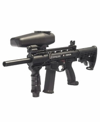 Tippmann X7 Phenom Close Quarters Paintball Marker Package