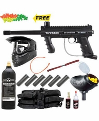 Tippmann 98 Custom Ultra Basic Paintball Gun MEGA Set