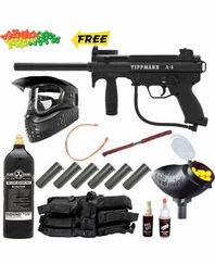 Tippmann 2011 A5 Paintball Gun MEGA Set