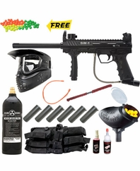 Valken V-Tac SW-1 Paintball Gun MEGA Set