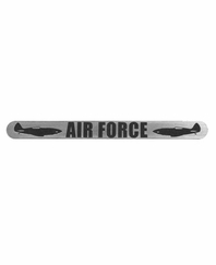 TechT Gun Tags - Air Force - Silver