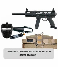 Tippmann X7 Phenom Mechanical Marker Tactical Power Package