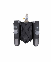 NXe 2+1 Paintball Pod and Tank Belt Pouch with Belt- Black