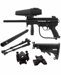 Tippmann 2011 A5 Light Machinegun Package Response Trigger