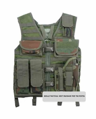 Tactical Vest Package for T68 Paintball Pistol