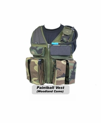 Strikeforce Paintball Vest CLEARANCE - Large Size