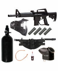 BT Omega 2012 Paintball Gun Package - Advanced