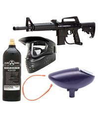 BT Omega 2012 Paintball Gun Package - Beginner