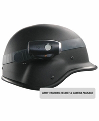 US Army Training Helmet and Helmet Cam Package
