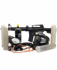 BT Omega Complete Scenario Paintball Kit 48ci 3000 psi HPA Tank