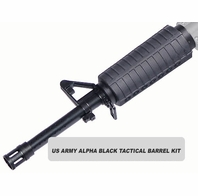 US Army Alpha Black Tactical Barrel Kit