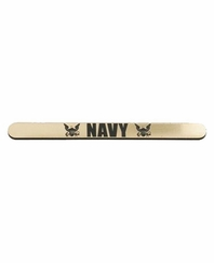 TechT Gun Tags - Navy – Gold