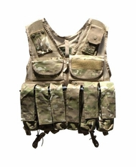 Rap4 Tactical Ten Paintball Scenario Vest - Woodland