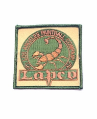 LAPCO Embroidered Sew-On Patch