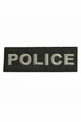 Police Patch - Large