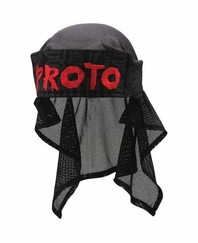 Proto 09 Vedder Paintball Head Wrap - Black