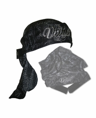 Virtue Script Paintball Headwrap – Black