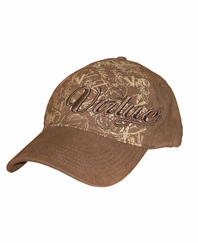 Virtue 3D Script Flex Fit Paintball Hat - Brown