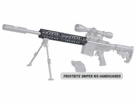 Frostbite Sniper RIS Handguard For Raptor Tactical Barrel