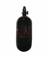 Ninja Paintball 90 ci 4500 psi Carbon Fiber HPA Tank System