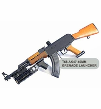 T68 AK47 Gun 40mm Grenade Launcher Package w/ Marker